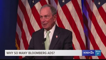 Why is Michael Bloomberg running ads in Spokane?
