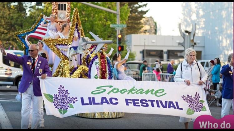 2020 Winner of Who Do You Love? Military: Spokane Lilac Festival Association