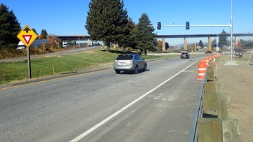 Five I-90 ramp meters in Spokane activate this week: Where they are located and how they work
