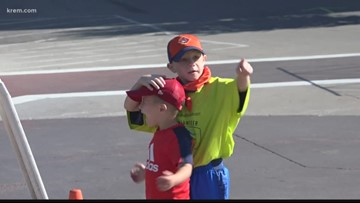 INW Boy Scouts lend a hand at CDA Ironman 70.3