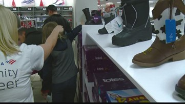 Salvation Army buys new clothes for Spokane area students