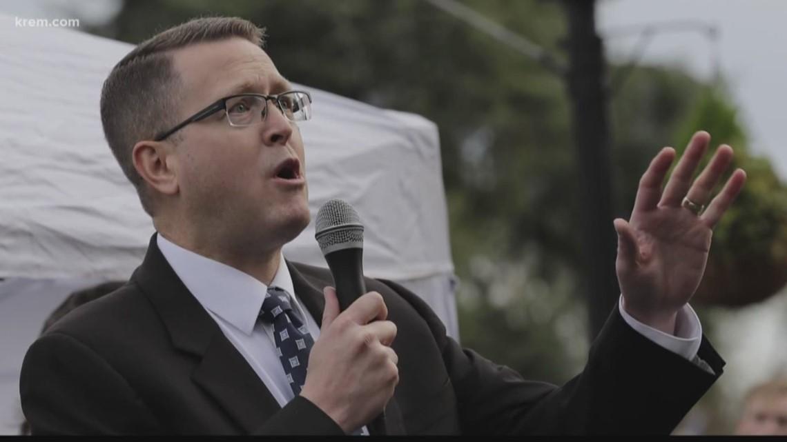Rep. Matt Shea tied to Washington-based group training men for 'biblical warfare,' report says