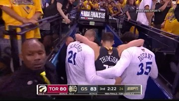 WSU alumnus Klay Thompson tears ACL in Game 6 of NBA Finals