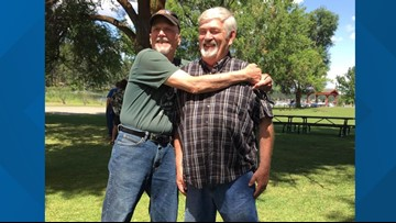 'It just made my heart full': Spokane veteran reunites with friend after almost 50 years