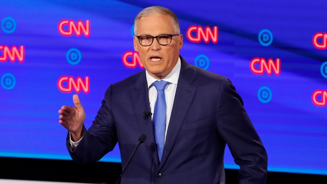 VERIFY: Did Gov. Jay Inslee's presidential run cost taxpayers $4 million?