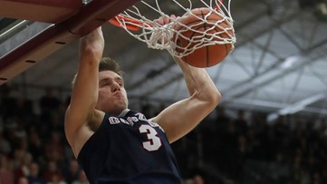 Gonzaga forward Filip Petrusev named to Wooden All-American team