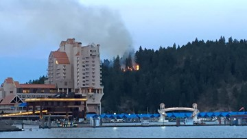 Coeur d'Alene reports fewer fires on Tubbs Hill in 2019