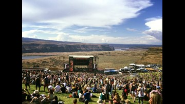 Gorge Amphitheater delayed Avett Brothers concert amid severe weather alert