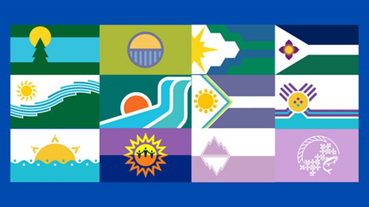 Here's how to vote for your favorite design for Spokane's new city flag
