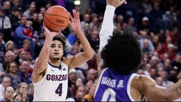 Woolridge leads No. 8 Gonzaga over UT-Arlington 72-66