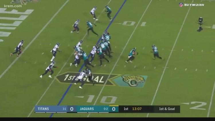 Gardner Minshew gets first NFL victory with Jacksonville Jaguars