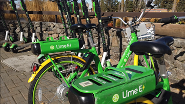 Lime scooters and bikes to leave the streets for the winter on Nov. 24