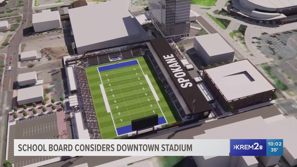 Spokane Public School Board hears Downtown Stadium proposal