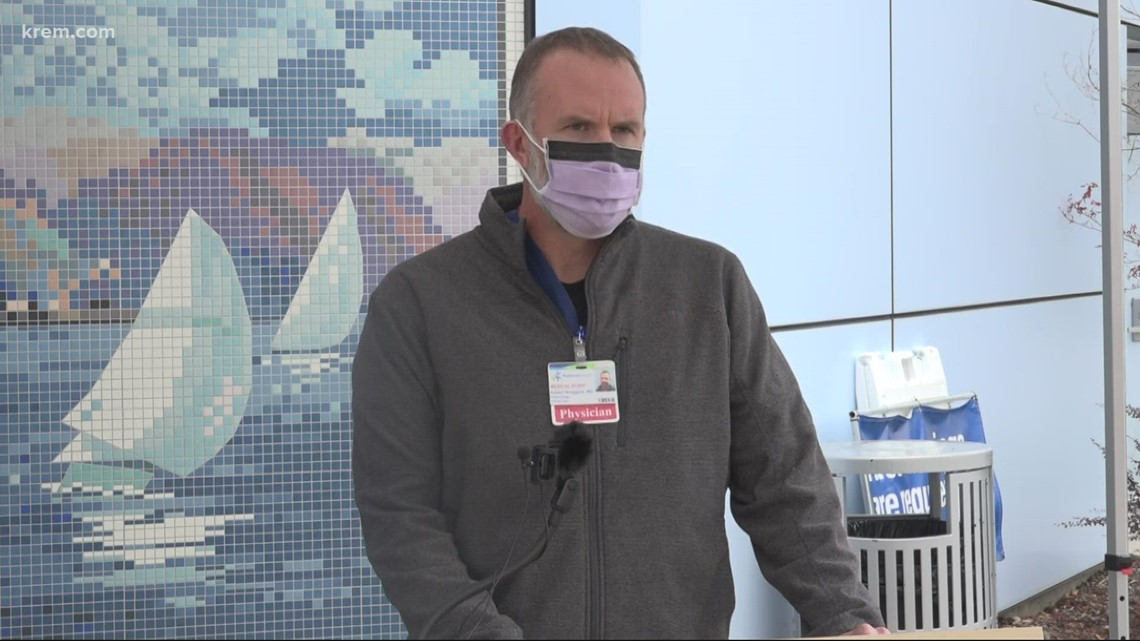 Despite slight dip in COVID-19 patients, leaders say morale at Kootenai Health suffering