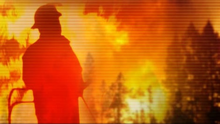 Fire crews said on Friday that they were making good progress on stopping the spread of the fire.