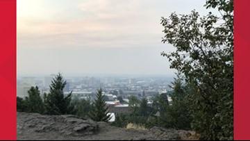 Photos: Wildfire smoke blankets Spokane region, impacts air quality