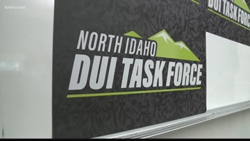 North Idaho DUI Task Force aims to reduce crashes, deaths from drunk driving