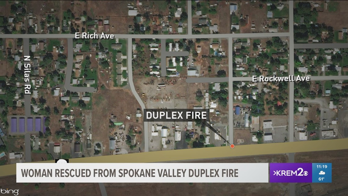 Spokane Valley Firefighters Rescue 64 Year Old Woman From Burning