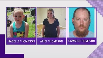 Father, two daughters from Kamiah believed to be in danger