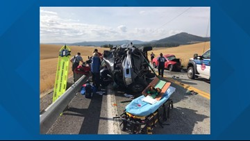 US95 near Tensed, Idaho reopens after fatal crash