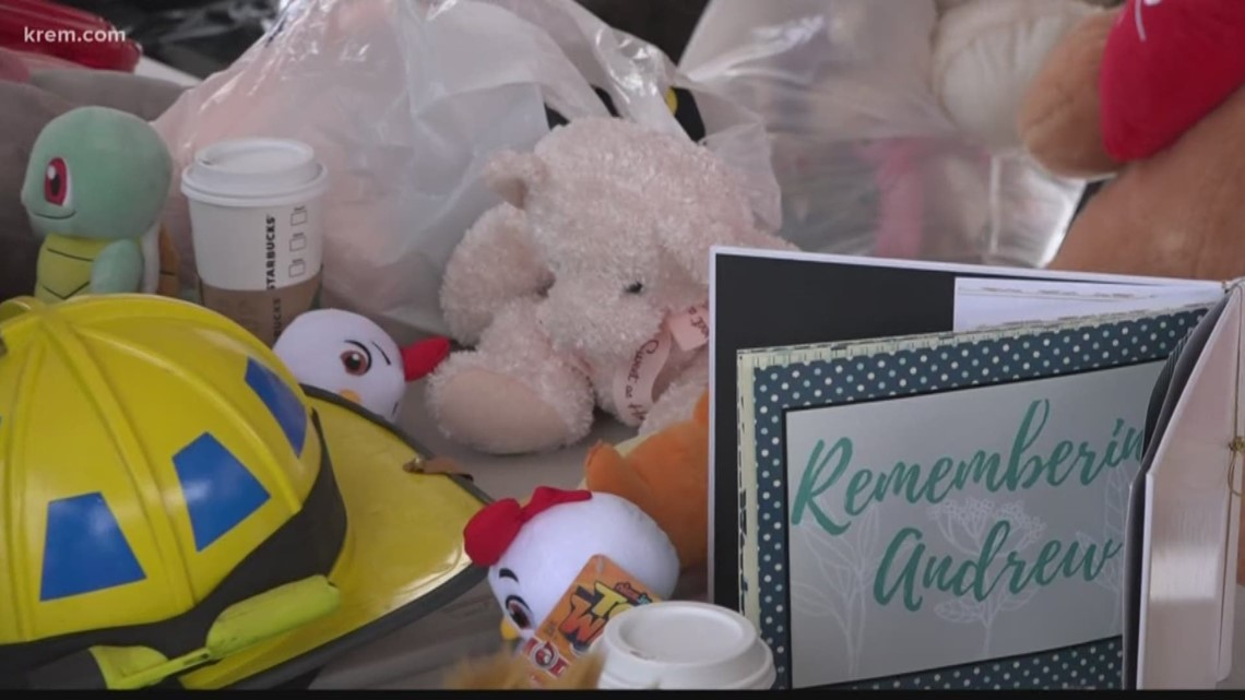 SFD holds stuffed animal drive inAndrew Vathis' honor