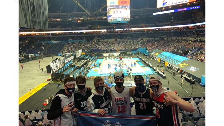 'You have to be willing to risk it all for your team': Gonzaga students fly to Indianapolis in search of NCAA tickets