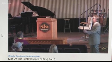 Coeur d'Alene pastor holds services amid 'stay home' order