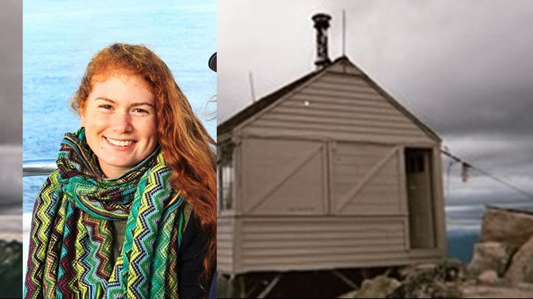 Missing hiker and the cabin where rescuers hope she may be staying