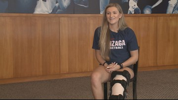 Laura Stockton reflects on her time in a Gonzaga jersey