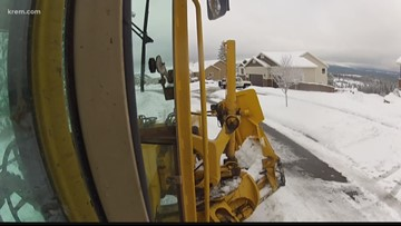 Residents threaten, throw shovels at Spokane County plow drivers during snow removal