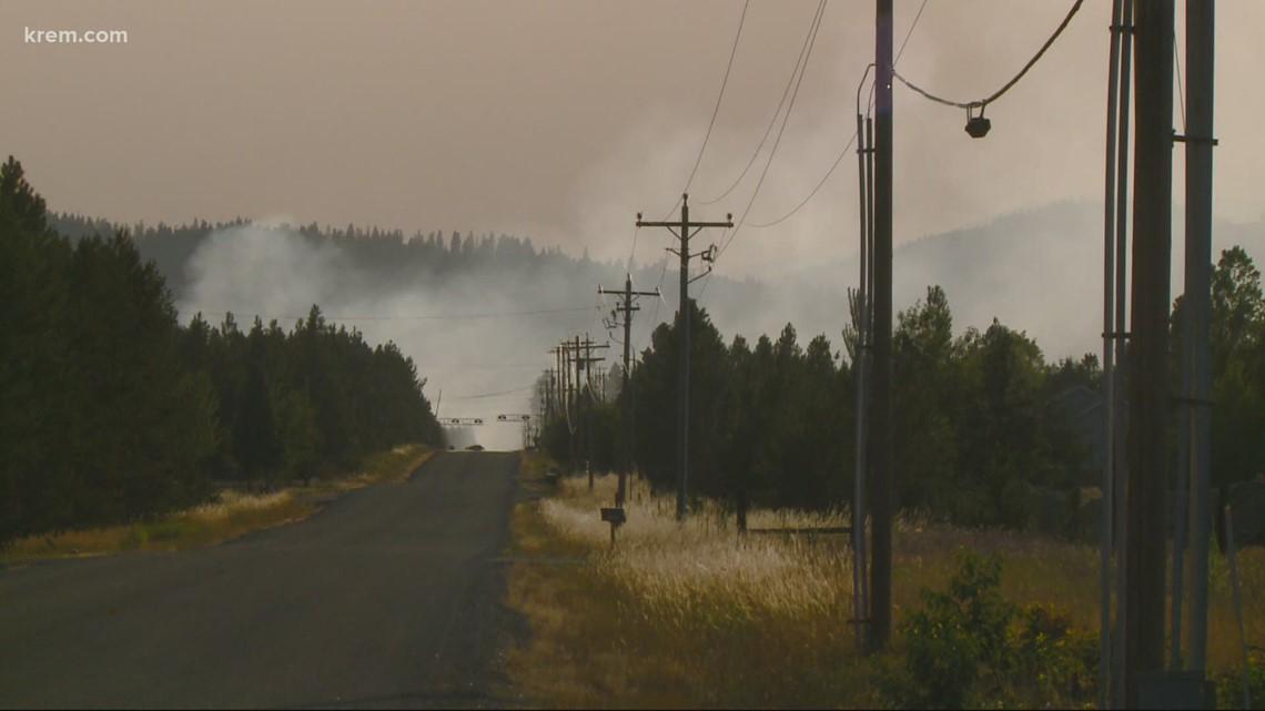 4 new fires burning in Washington, North Idaho Friday