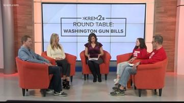 KREM 2 Roundtable: Gun Bills in Washington state