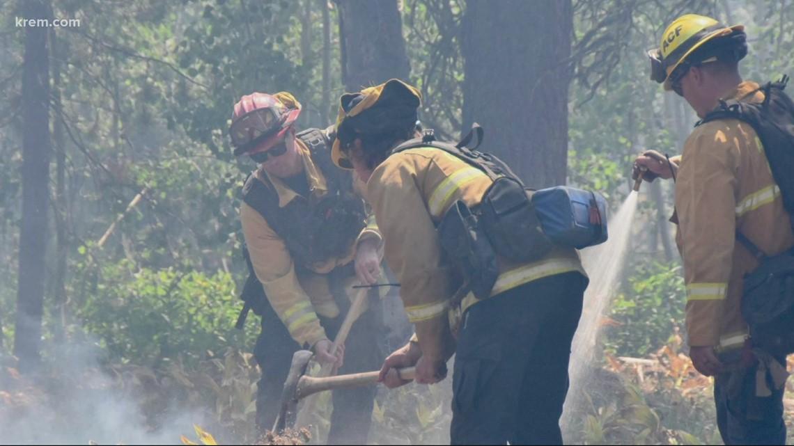 Updates on wildfires burning in Washington, Oregon