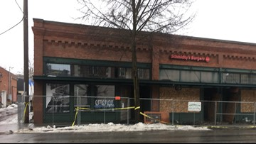 Firewall protected Coeur d'Alene art gallery during fire