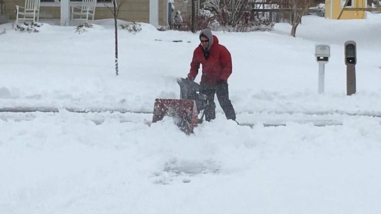 Mike Murad Wisconsin Snow