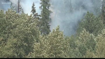 CCC Fire burning 400-acres, crews catch a break from rain