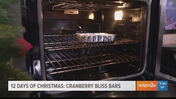 12 Days of Christmas: Cranberry Bliss Bars