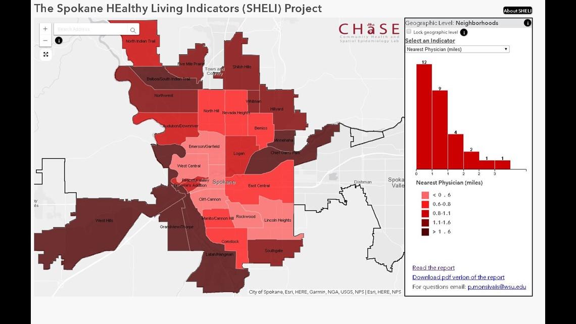 Wsu Spokane Researchers Launch Tool Tracking Neighborhood Health