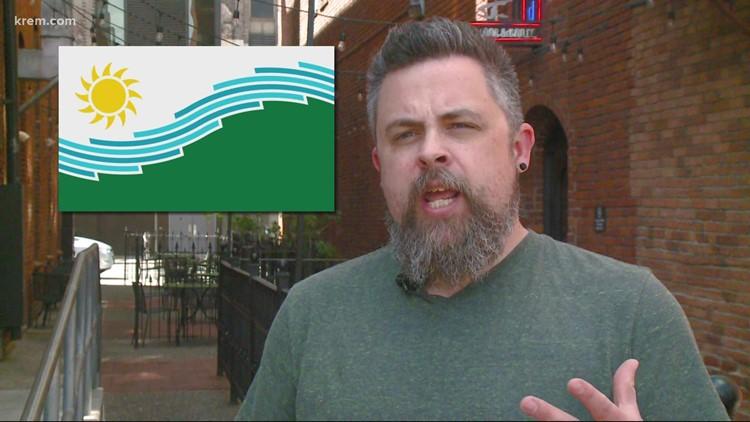 Spokane has a new city flag. Meet the designer