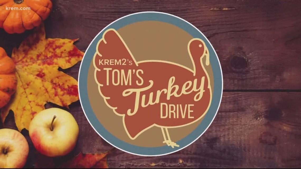 Avista makes donation to Tom's Turkey Drive 2020