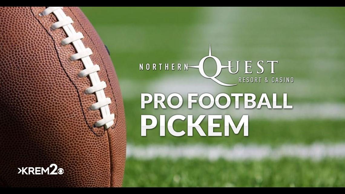 Northern Quest Resort & Casino's Pro Football Pick'Em Contest