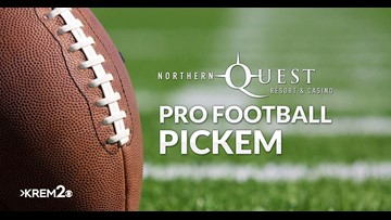 Northern Quest Resort & Casino's Pro Football Pick'Em Contest