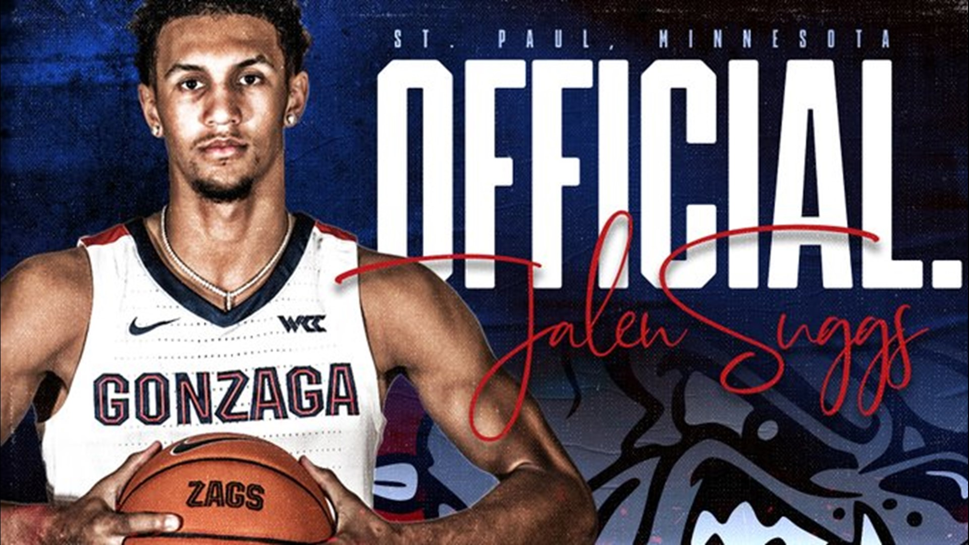 Jalen Suggs 'ecstatic' about officially committing to Gonzaga | krem.com