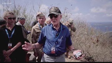 'I just couldn't believe it': Spokane veteran returns to WWII battlefields where he fought