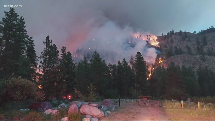 Why some people get evacuation warnings and others don't during wildfire season