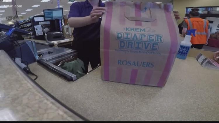 KREM 2 Diaper Drive helps raise money for the Vanessa Behan Crisis Nursery