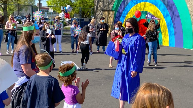 'Imagine all the kids you've inspired': Regal Elementary School principal to receive doctorate degree from Gonzaga Saturday