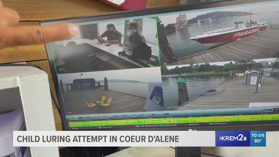 CDA Parasail staff step in to help during child luring attempt