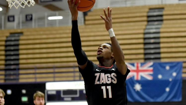 Report: Former Gonzaga guard Joel Ayayi agrees to two-way contract with Los Angeles Lakers