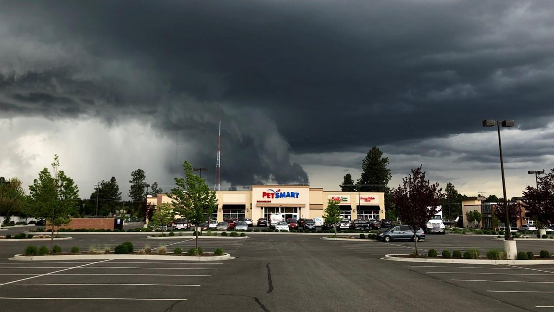 rain continues in spokane through saturday